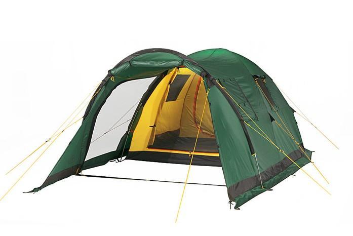 Палатка Alexika Grand Tower 4 Green комплект дуг alexika для grand tower 4 серый