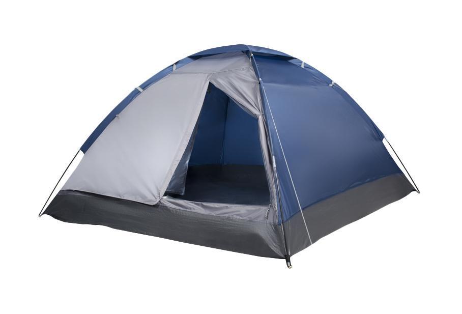 """Палатка трехместная Trek Planet """"Lite Dome 3"""", цвет: синий, серый"""
