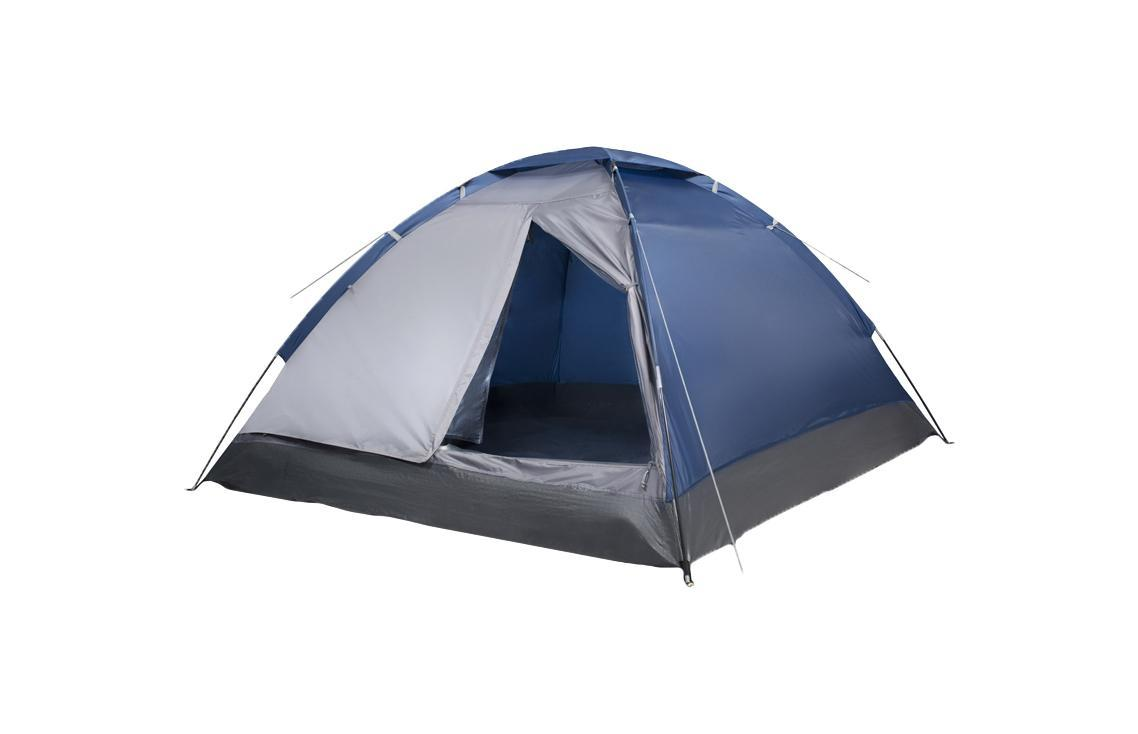 "Палатка двухместная Trek Planet ""Lite Dome 2"", цвет: синий, серый"