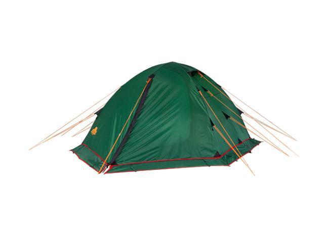 Палатка Alexika Rondo 2 Plus Green9123.2901Трекинговая палатка Rondo 2 Plus – вариант популярной палатки Rondo 2 с юбкой по периметру, которую вы сможете установить за максимально короткий промежуток времени. Данная палатка устойчива и надежна, ее конструкция поддерживается при помощи легких, но достаточно прочных алюминиевых дуг, предотвращающих возможное провисание тента. Непромокаемое внешнее покрытие палатки производится из тентованного полотна Polyester, а дно выполняется из очень плотной прорезиненной ткани. Палатка Rondo 2 Plus предназначена для комфортного отдыха двух туристов, хотя в ее внутреннем пространстве при необходимости без труда могут поместиться и три человека. Главное преимущество палатки Rondo 2 Plus – наличие двух вместительных тамбуров, где туристы могут оставить свои рюкзаки. Данная модель также характеризуется двумя раздельными входами, чтобы туристы, покидающие палатку среди ночи, не потревожили сон друг друга. Еще одна особенность модели Rondo 2 Plus – наличие удобной внутренней палатки из полупрозрачного желтого полотна, которая удобно и надежно закрывается на змейку-молнию. Откидывающийся полог из тента зеленого цвета после закрытия позволяет сделать внутреннее пространство спальной палатки герметичным, защищая спящих туристов во время ночных понижений температур. Особенности: Пропитка, задерживающая распространение огня Швы герметизированы термоусадочной лентой Узлы палатки, испытывающие высокие нагрузки, усилены более прочной тканью Край тента обшит прочной стропой Молнии на внешнем тент...