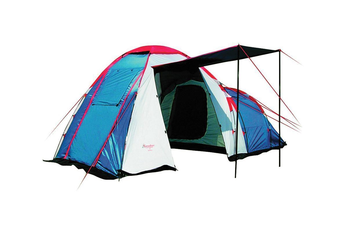 Палатка CANADIAN CAMPER HYPPO 4 (цвет royal) тент canadian camper safary цвет woodland высота 250см со стойками