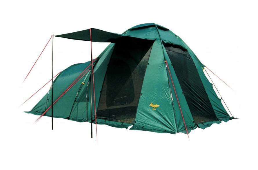 Палатка CANADIAN CAMPER HYPPO 4 (цвет woodland) тент canadian camper safary цвет woodland высота 250см со стойками
