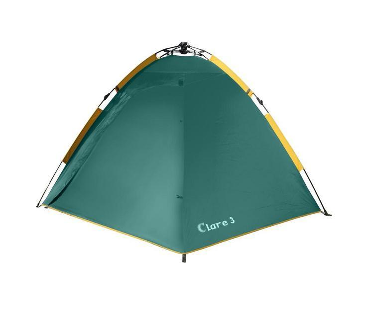 Палатка GREENELL Клер 3 V2, цвет: зеленый, 95280-303-00
