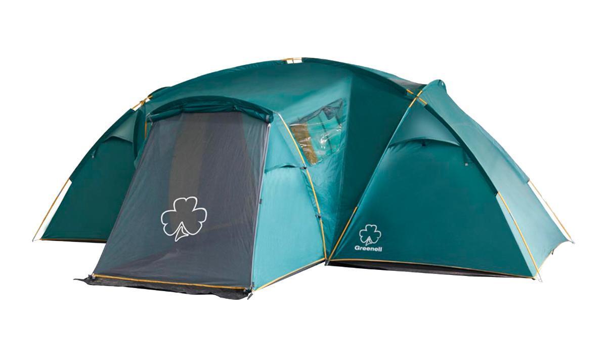 Палатка Greenell Виржиния 6 плюс Green
