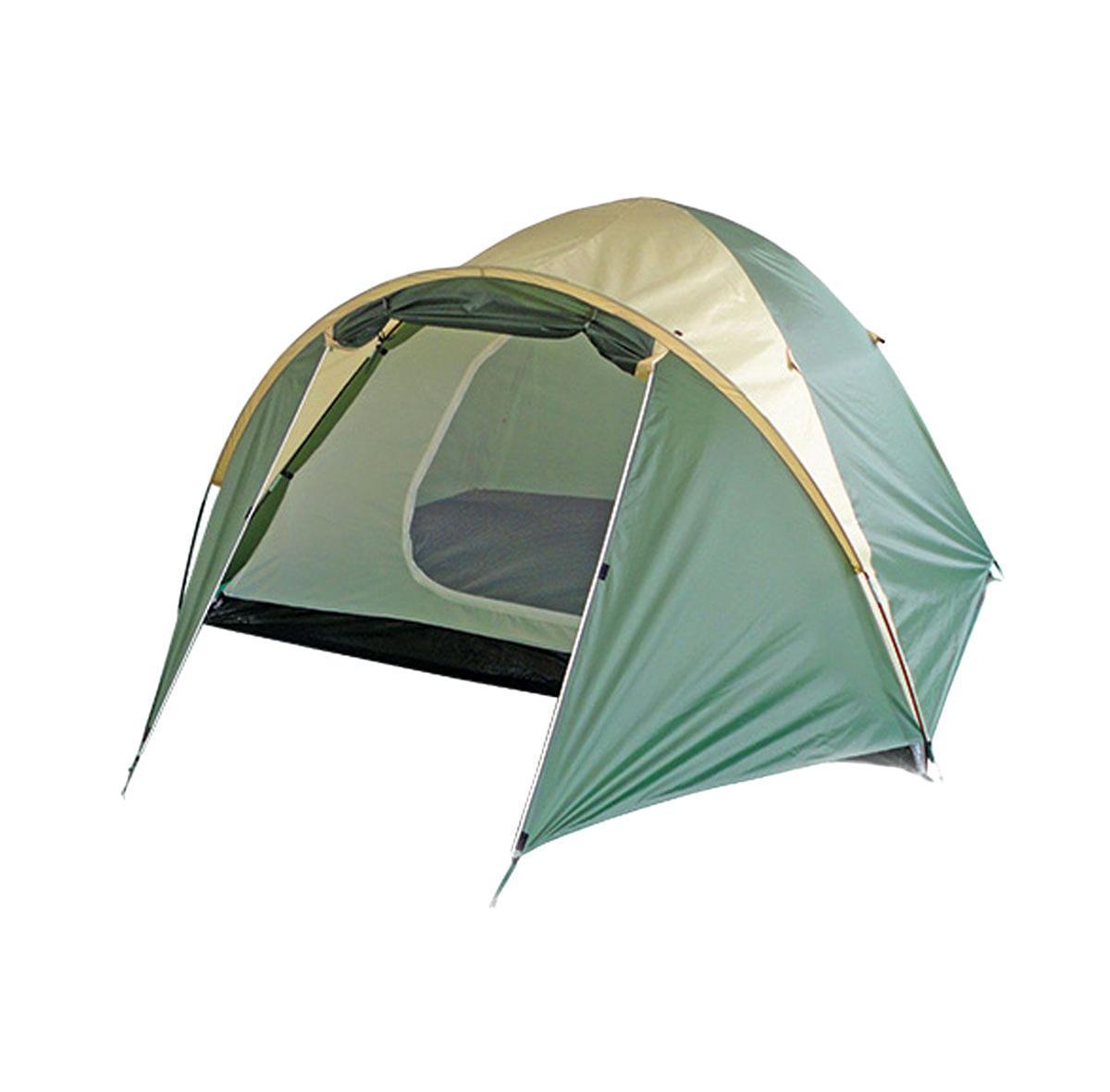 Палатка Happy Camper PL-025-4PPL-025-4PЭта палатка сочетает в себе качества простой кемпинговой палатки, в которой можно разместиться всей семьей, и собирается так же легко, как треккинговые. В ней имеется тамбур для хранения вещей. Внутренняя дверь продублирована противомоскитной сеткой, а благодаря внутренним карманам все необходимые вещи всегда будут под рукой. Особенности: Проклеенные швы; Внутренний тент может устанавливаться отдельно; Два окна из дышащего полиэстера. Характеристики: Размер палатки в разложенном виде (ДхШхВ): 350 см х 210 см х 140 см. Наружный тент: 190T полиэстер с полиуретановым покрытием. Внутренняя палатка: дышащий полиэстер. Дно: 110G полиэтилен. Каркас: дуги из фибергласа диаметром 8,5 мм. Вес: 3500 г. Размер в сложенном виде: 61 см х 13 см х 13 см. Рекомендуем!