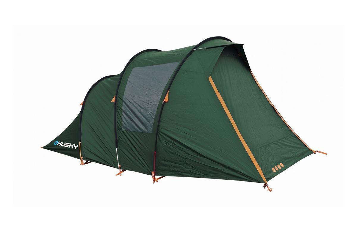 Палатка Husky Baul 4 Dark Green палатка greenell виржиния 6 плюс green