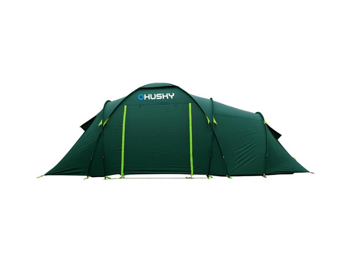 Палатка Husky Boston 6 Dark Green, цвет: темно-зеленый палатка greenell виржиния 6 плюс green