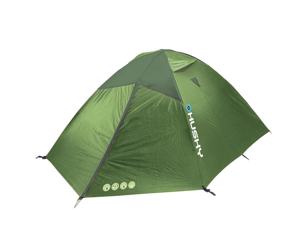 Палатка Husky Baron 4 Light Green, цвет: светло-зеленый