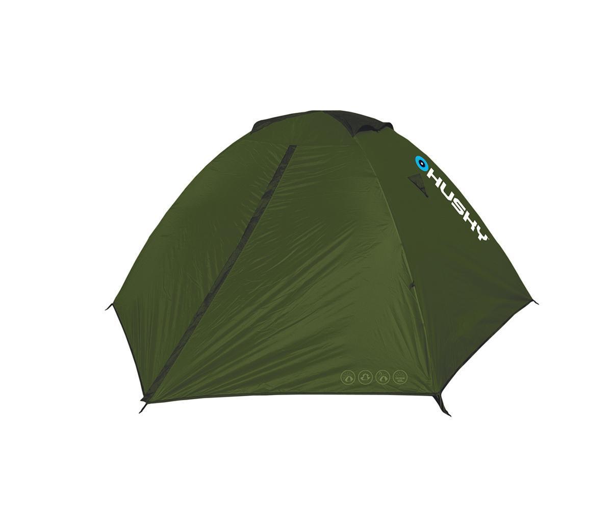 Палатка Husky Sawaj 2, цвет: зеленый
