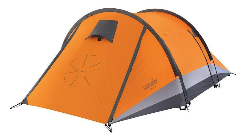 Палатка Norfin Glan 3 Orange-Gray