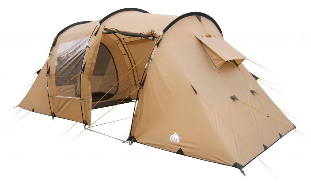 """Палатка четырехместная TREK PLANET """"Omaha Twin 4"""", цвет: песочный"""