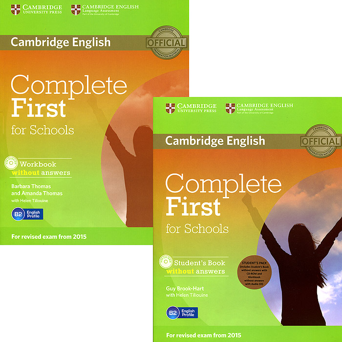 Complete First for Schools Student's Pack (комплект из 2 книг + 2 CD-ROM) first friends 1 class book cd
