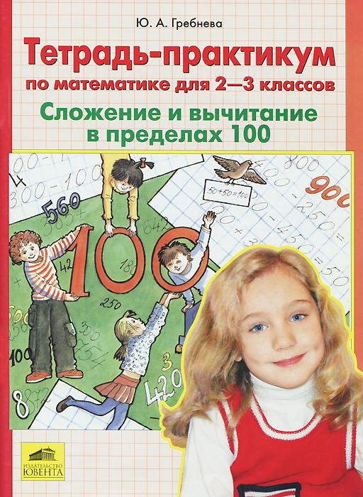 Ю. А. Гребнева Математика. 2-3 классы. Сложение и вычитание в пределах 100. Тетрадь-практикум и в данилина о а климишева математика 3 4 классы находим значения выражений в пределах 1000