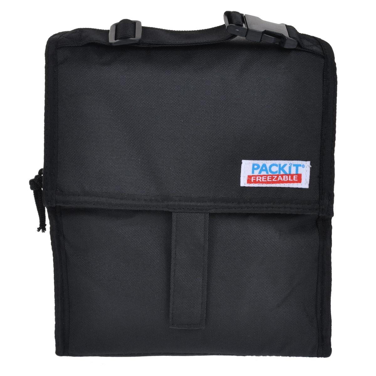 Сумка для ланча PACKIT Personal Cooler, изотермическая, цвет: черный. PKT-PC-BLA