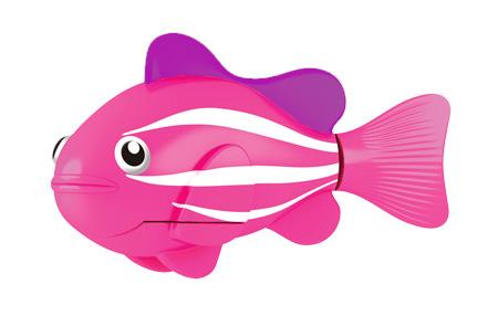 цена на Игрушка для ванны Robofish РобоРыбка: Клоун, цвет: розовый