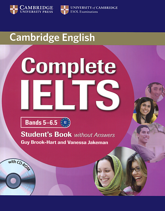 Complete IELTS: Bands 5-6.5: Student's Book without Answers (+ CD-ROM) objective ielts advanced self study student s book cd rom