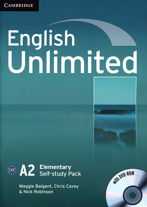 English Unlimited: Elementary Self-study Pack (+ DVD-ROM) real life elementary interactive dvd