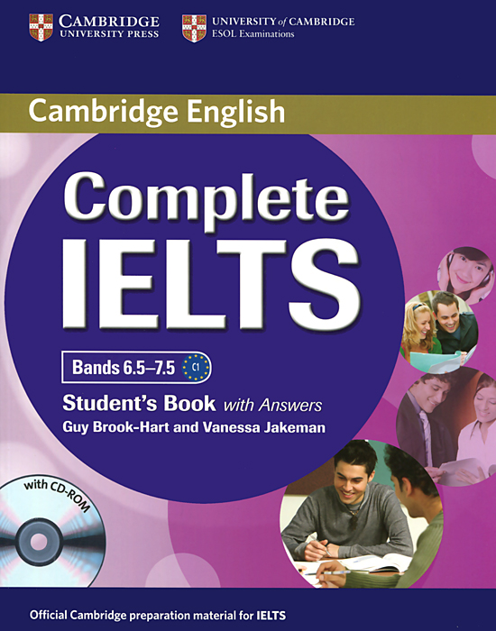 Complete IELTS: Bands 6.5-7.5: Student's Book with Answers (+ CD-ROM) complete advanced student s book with answers with cd rom with testbank