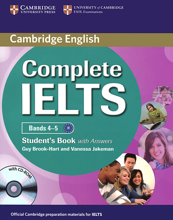 Complete IELTS: Bands 4-5: Student's Book with Answers (+ CD-ROM) complete advanced student s book with answers with cd rom with testbank