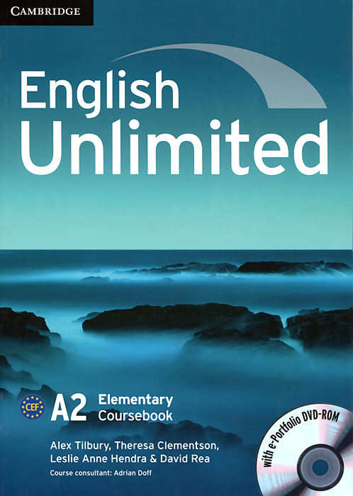 English Unlimited: Elementary Coursebook (+ DVD-ROM) real life elementary interactive dvd
