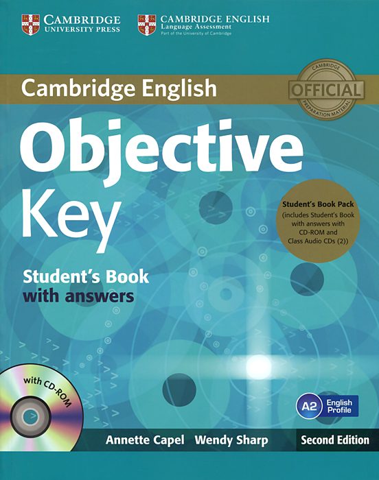 Objective Key: Student's Book with Answers (+ 2 CD-ROM) laser a2 workbook with key cd rom