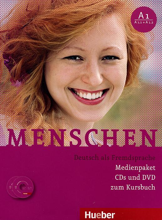 Menschen A1: Medienpaket zum Kursbuch (3 CD + DVD-ROM) gold experience a1 students book dvd rom
