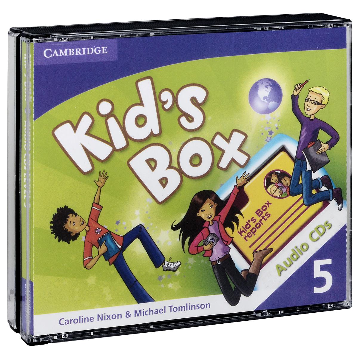 Kids Box 5 (аудиокурс на 3 CD)