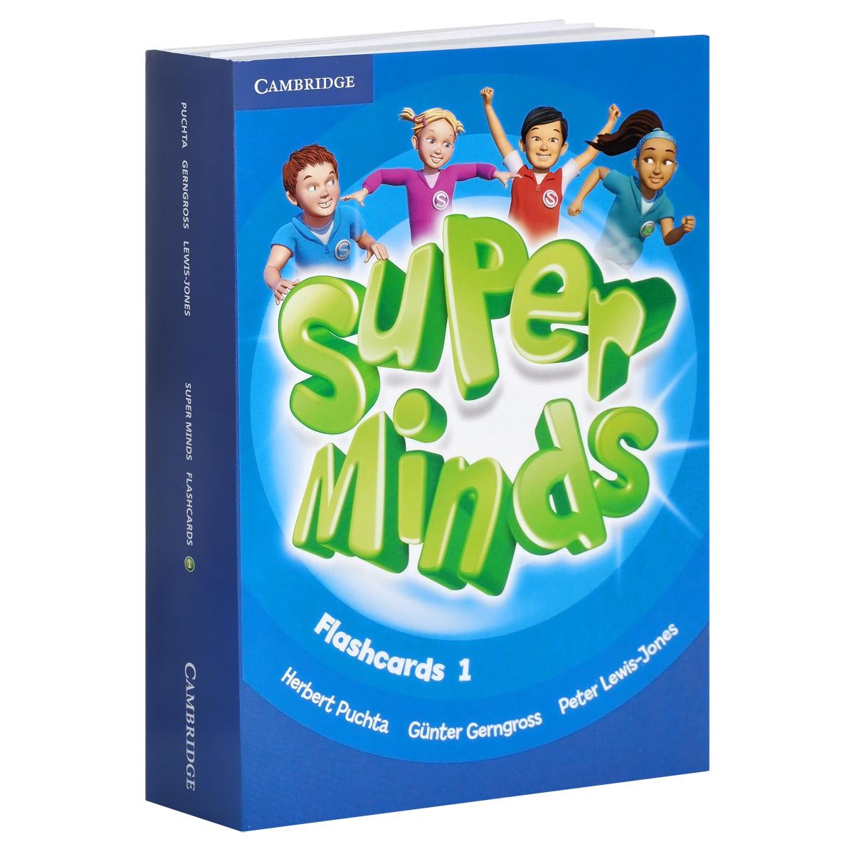 Super Minds: Level 1: Flashcards super safari level 2 flashcards