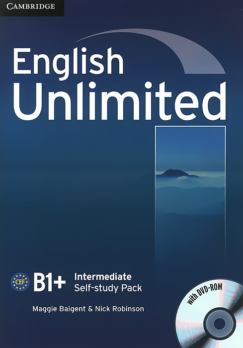 English Unlimited: Intermediate B1+: Self-study Pack (+ DVD-ROM) english unlimited elementary self study pack dvd rom