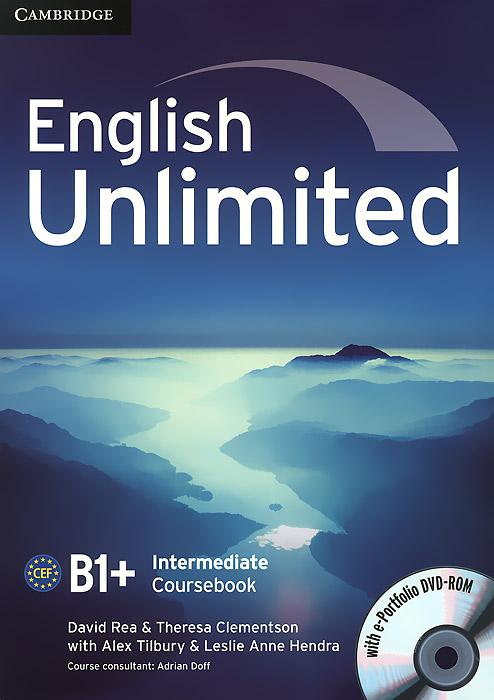 English Unlimited: Intermediate B1+: Coursebook (+ DVD-ROM) цена