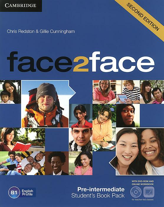 Face2face: Pre-intermediate B1: Student's Book (+ DVD-ROM and Online Workbook) straightforward pre intermediate teacher s book dvd rom