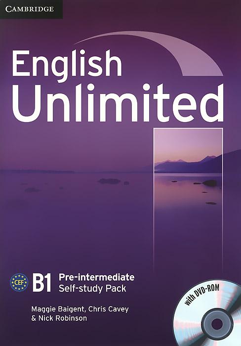English Unlimited: Pre-Intermediate: Self-study Pack (+ DVD-ROM) english unlimited elementary self study pack dvd rom