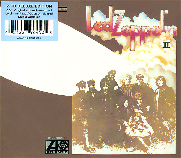 Led Zeppelin Led Zeppelin. Led Zeppelin II(2 CD) cd led zeppelin bbc sessions
