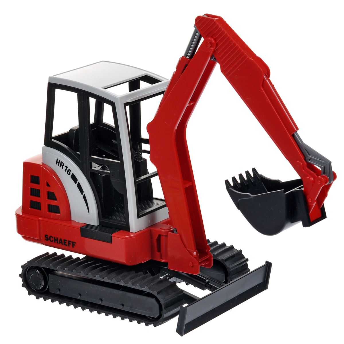 Bruder Мини-экскаватор гусеничный Schaeff HR16 машина bruder schaeff hr16 мини экскаватор гусеничный 02 432