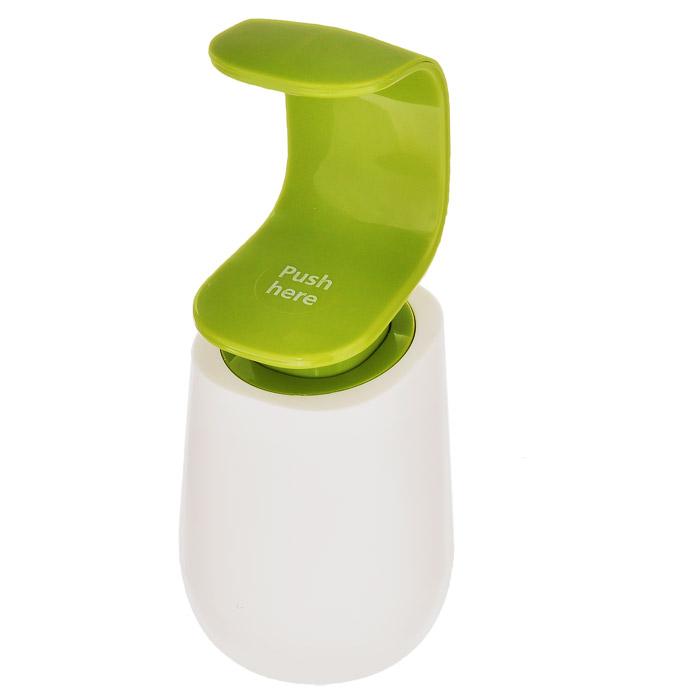 """Дозатор для мыла Joseph Joseph """"C-Pump"""", цвет: зеленый, 300 мл"""