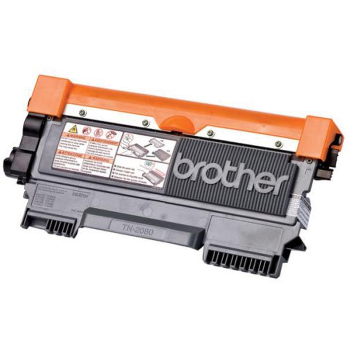 лучшая цена Картридж Brother TN2080, черный, для лазерного принтера