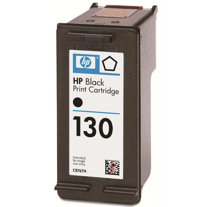 Картридж HP 130 (C8767HE), черный картридж для принтера hp c8767he 130 black inkjet print cartridge