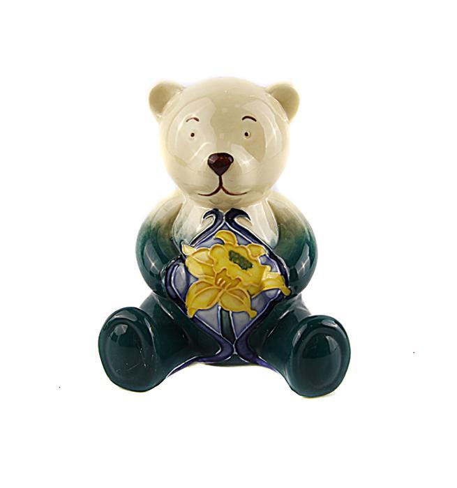 """Коллекционная статуэтка """"Мишка-Март"""". Фарфор, роспись. Old Tupton Ware, Великобритания, конец XX века"""