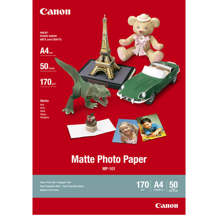 Canon MP-101 170/A4/50л Matte Photo Paper (7981A005) термокружка проект 111 shape 400ml blue 5803 40