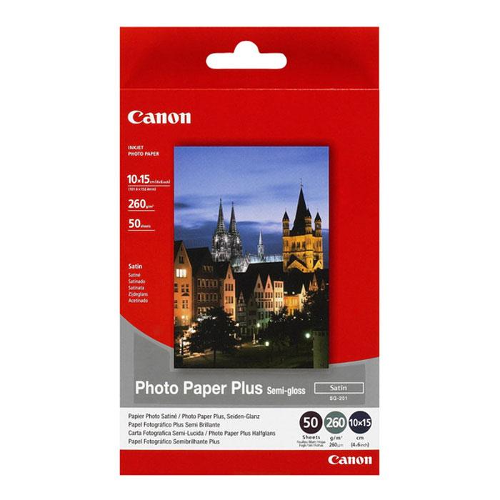 Canon SG-201c 260/50л Photo Paper Semi-Gloss 4 x6  (1686B015)