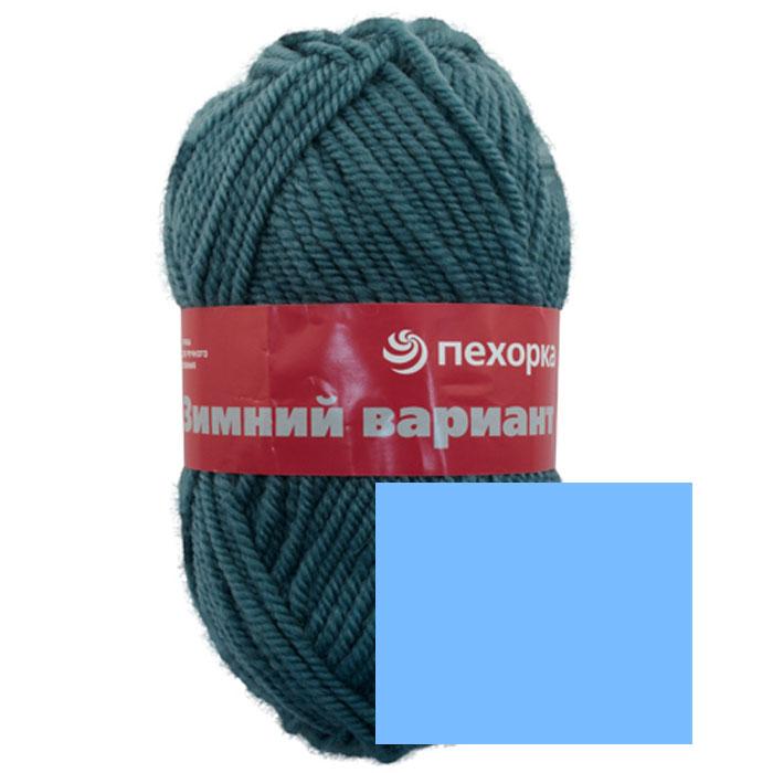 Пряжа для вязания Пехорка Зимний вариант, цвет: голубой (05), 100 м, 100 г, 10 шт пряжа для вязания пехорка зимний вариант цвет лагуна 591 100 м 100 г 10 шт