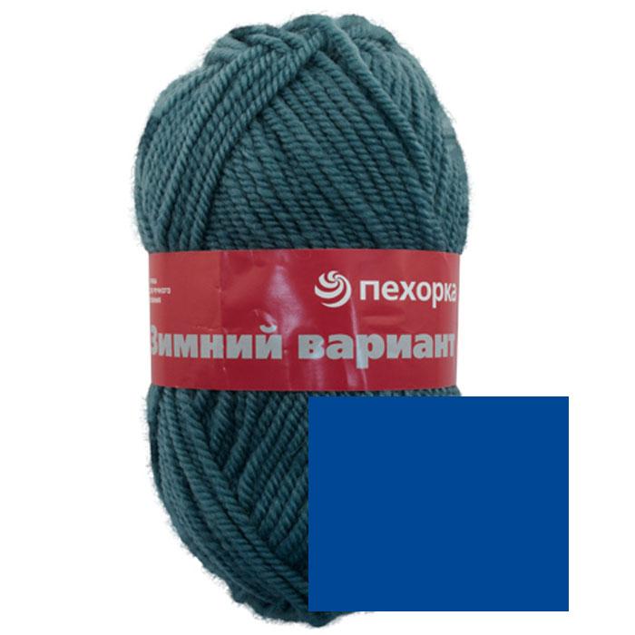 Пряжа для вязания Пехорка Зимний вариант, цвет: светлая джинса (256), 100 м, 100 г, 10 шт пряжа для вязания пехорка зимний вариант цвет лагуна 591 100 м 100 г 10 шт