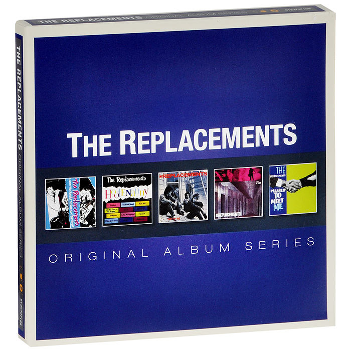 The Replacements The Replacements. Original Album Series (5 CD) original airtac compact slide cylinder roller bearing hls series hls12x100s