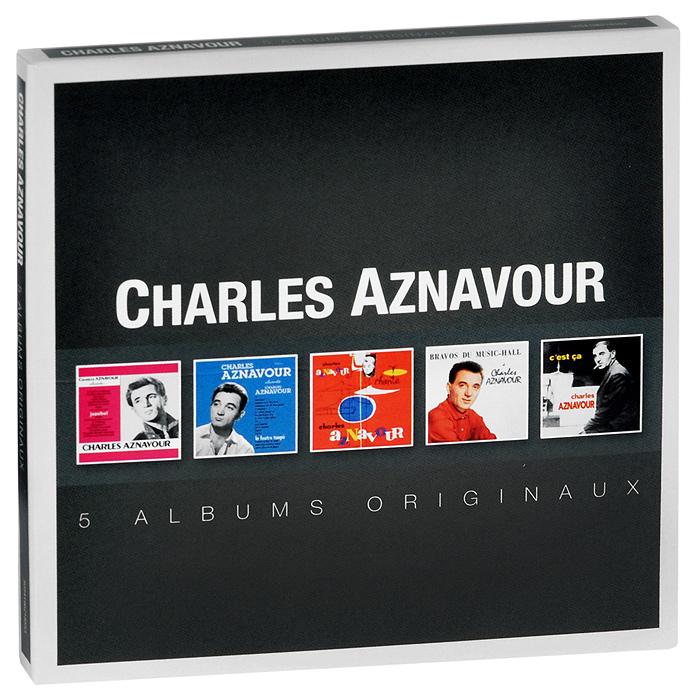 лучшая цена Шарль Азнавур Charles Aznavour. Albums Originaux (5 CD)
