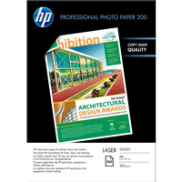 HP 200/A4/100л глянцевая двухсторонняя фотобумага для лазерной печати (CG966A)