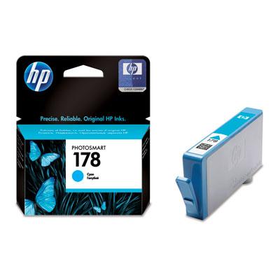 Картридж HP 178 (CB318HE), голубой hp photosmart 7450