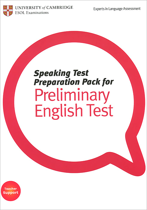 Speaking Test Preparation Pack for Preliminary English Test (+ DVD-ROM) cambridge preliminary english test 2 student s book