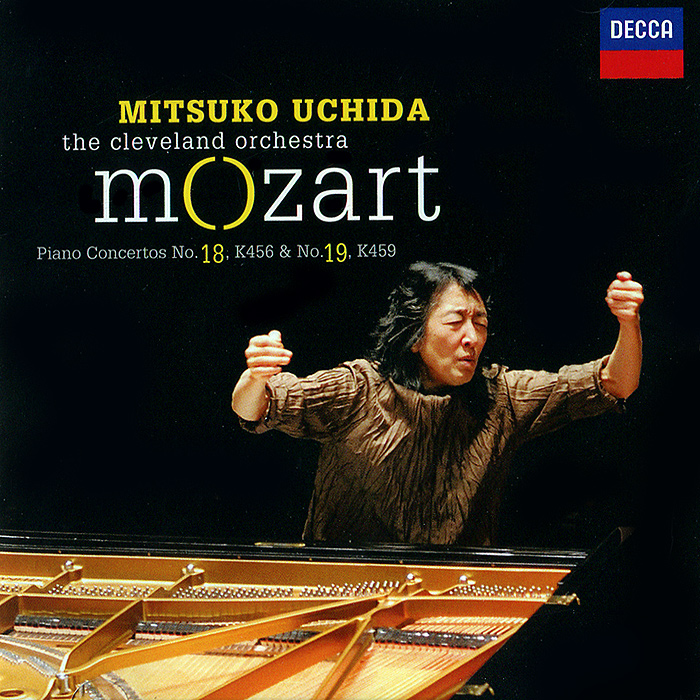 Мицуко Ючида,The Cleveland Orchestra Mitsuko Uchida, The Cleveland Orchestra. Mozart. Piano Concertos 18, К456 & 19, К459 мицуко ючида the cleveland orchestra mitsuko uchida the cleveland orchestra mozart piano concertos 9 k271