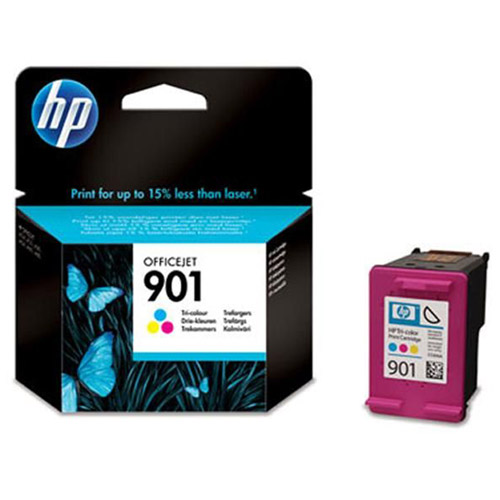 Картридж HP CC656AE 901, голубой, пурпурный, желтый, для струйного принтера, оригинал