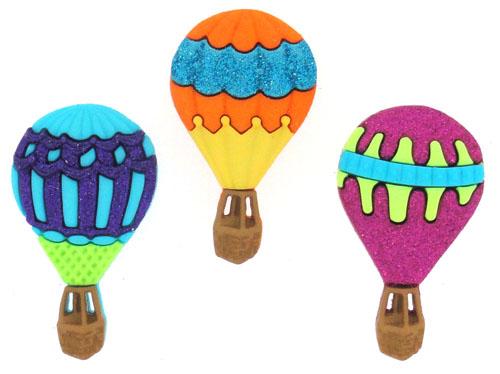 """Пуговицы декоративные Dress It Up """"Воздушные шары"""", 3 шт. 7704594"""